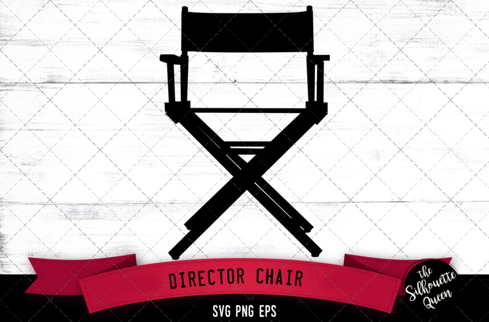 Director chair svg