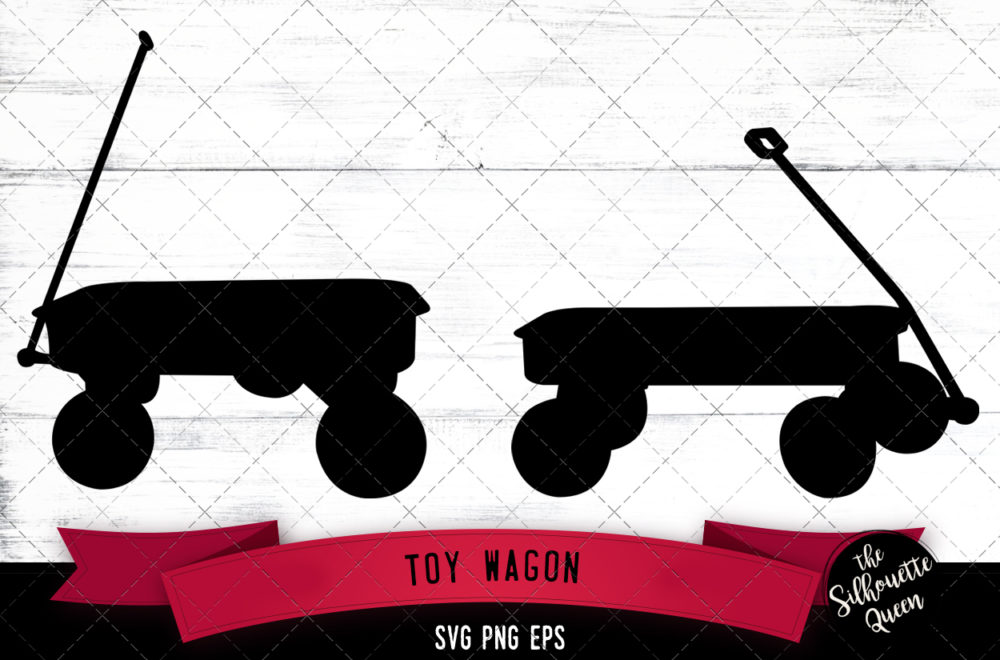 Toy wagon svg
